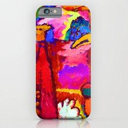 Wassily Kandinsky Improvisation V iPhone Case