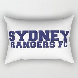 College - Blue Rectangular Pillow