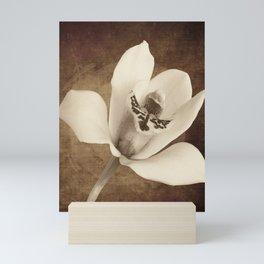 Vintage Flowers Digital Collage 12 Mini Art Print