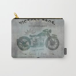Motorbike Vintage Grunge Poster Carry-All Pouch