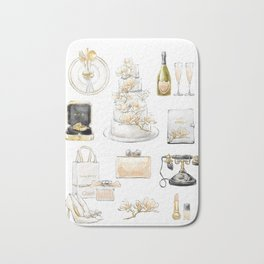 Wedding Accessories List Bath Mat