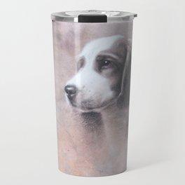 Brittany Spaniel Puppy Travel Mug