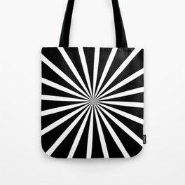 Black Zoom Tote Bag