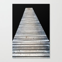 Untersee Pier Canvas Print