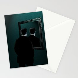 Into the mirror  Stationery Cards