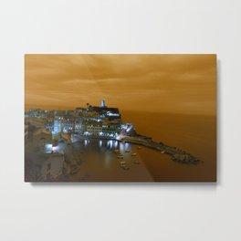 Island on the Coast Metal Print