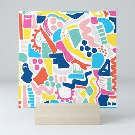Colour Scatter Mini Art Print