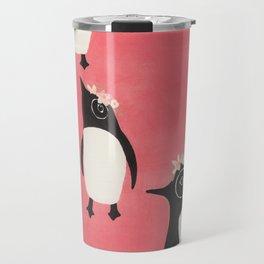 3 Penguins Travel Mug