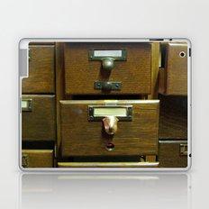 Used Card Catalog (Full of Toys) Laptop & iPad Skin