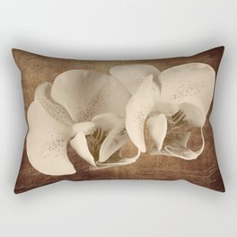 Vintage Flowers Digital Collage 21 Rectangular Pillow