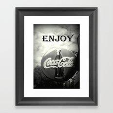 Coca Cola #2 Framed Art Print