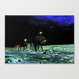 lookout to the stars Canvas Print