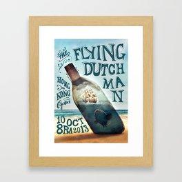 The Flying Dutchman Framed Art Print
