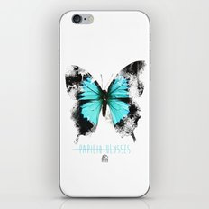 Butter flies - Papilio_Ulysses iPhone & iPod Skin