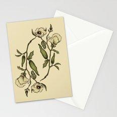 Botanical Okra Stationery Cards