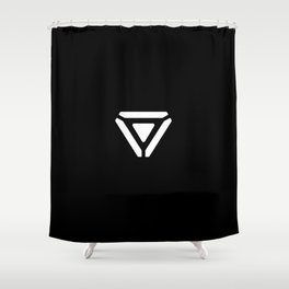 Project logo Shower Curtain