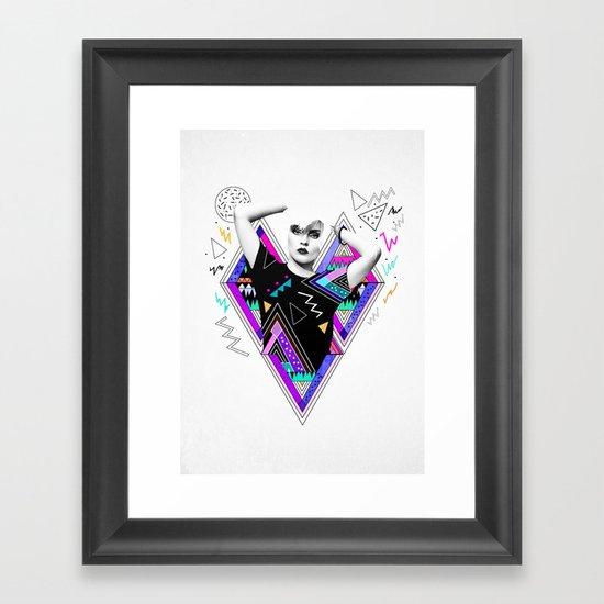 Heart Of Glass - Kris Tate x Ruben Ireland Framed Art Print