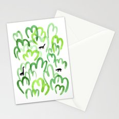 Animals in the forest Stationery Cards