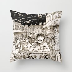 Another end of the World Throw Pillow