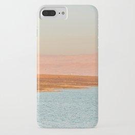 Dead sea, Israel. Landscape photography poster art print iPhone Case