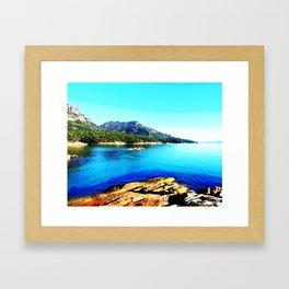 Honeymoon Bay Framed Art Print