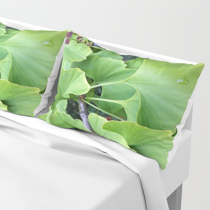 Ginkgo Leaves Pillow Sham