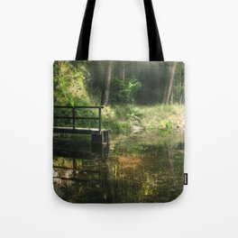 Calm forest Tote Bag