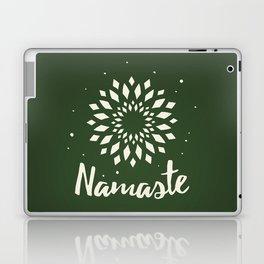 Namaste Mandala Flower Power Laptop & iPad Skin