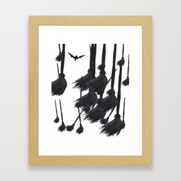 Witch craft Framed Art Print