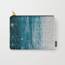 Distressed Wood Carry-All Pouch