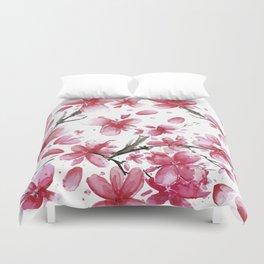 Cherry Blossoms #society6 #buyart Duvet Cover