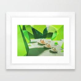 Row Your Boat Framed Art Print