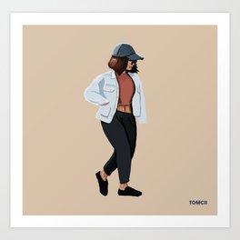 Fashion Jacket Art Print