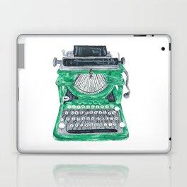 Green Typewriter Laptop & iPad Skin