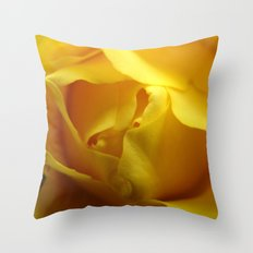 Yellow Roses #4 Throw Pillow