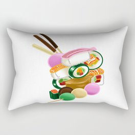 Sushi and Sweets - Full design Rectangular Pillow