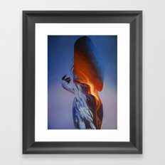 Erupt Framed Art Print