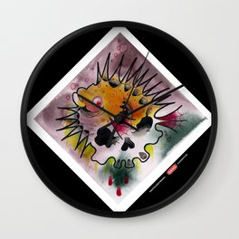 PuffrSkull Wall Clock