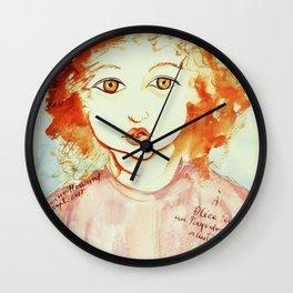 Alice Still In Wonderland Wall Clock