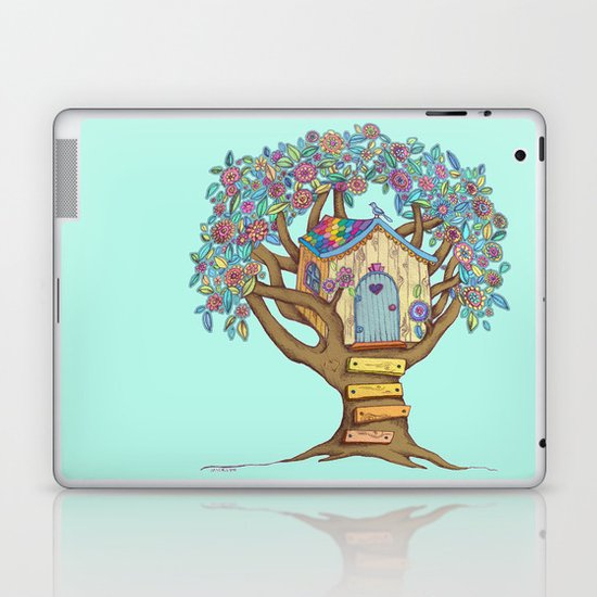 Live Simply, Love Trees Laptop & iPad Skin