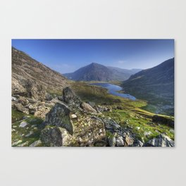 Devils Kitchen View Canvas Print