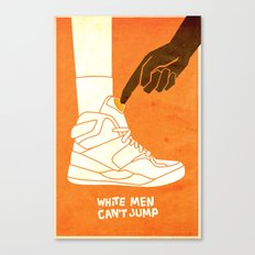 White Men Can't Jump Canvas Print
