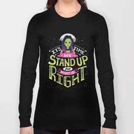 Stand up Long Sleeve T-shirt