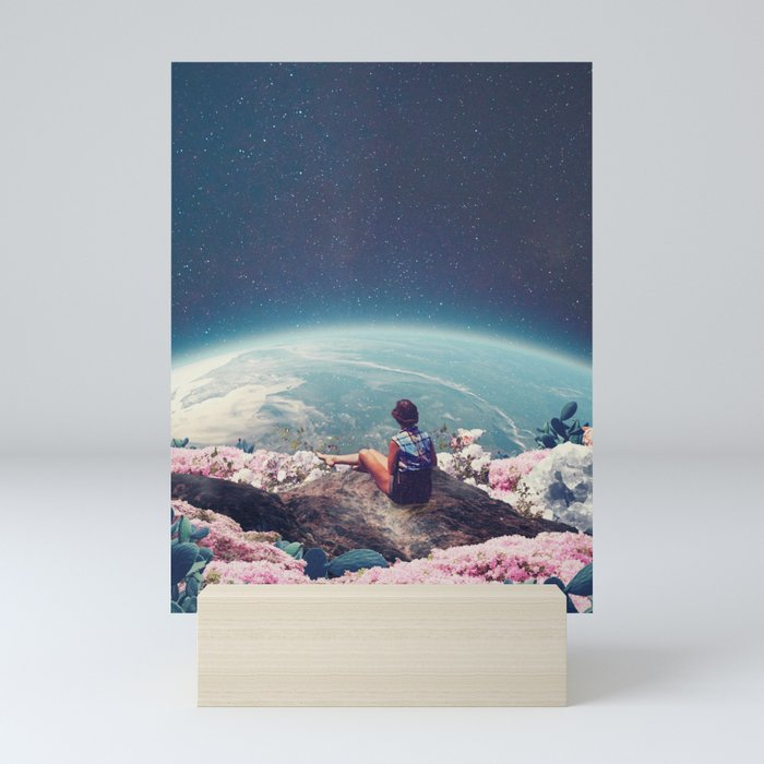 My World Blossomed when I Loved You Mini Art Print