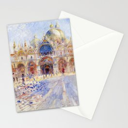Renoir - The Piazza San Marco, Venice Stationery Cards
