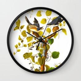 Loggerhead Shrike Bird Wall Clock