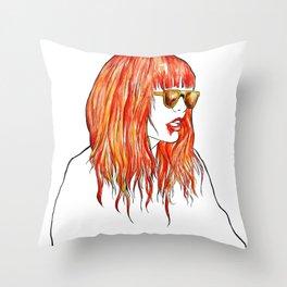 sweet fire Throw Pillow