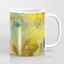Van Gogh Street Art Dripping Remix Coffee Mug