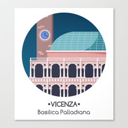 Vicenza - Basilica Palladiana Canvas Print