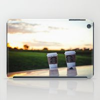 starbucks iPad Cases featuring Starbucks Love Me & You by Jo Bekah Photography